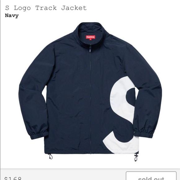 Supreme Other - Supreme S Logo Track Jacket